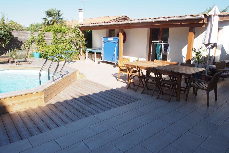 Vue de la terrasse Location Villa 98474 Audenge