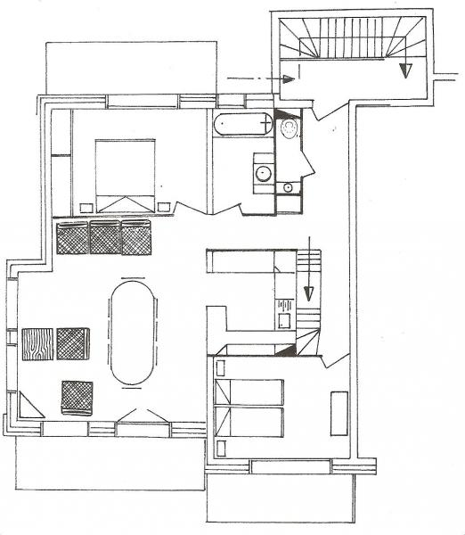 Plan de la location Location Appartement 1365 Le Grand Bornand