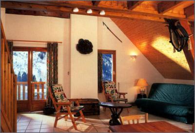 Salon Location Appartement 3327 Vaujany