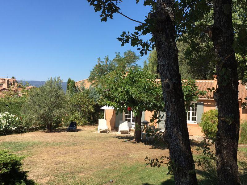 Vue depuis la location Location Maison 100544 Roussillon