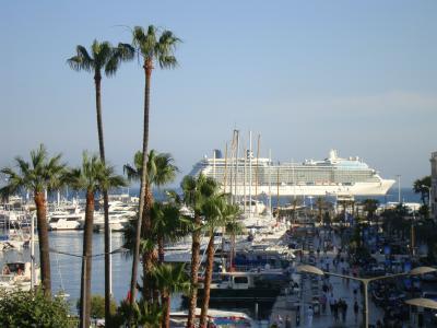 Vue depuis la location Location Appartement 100643 Cannes
