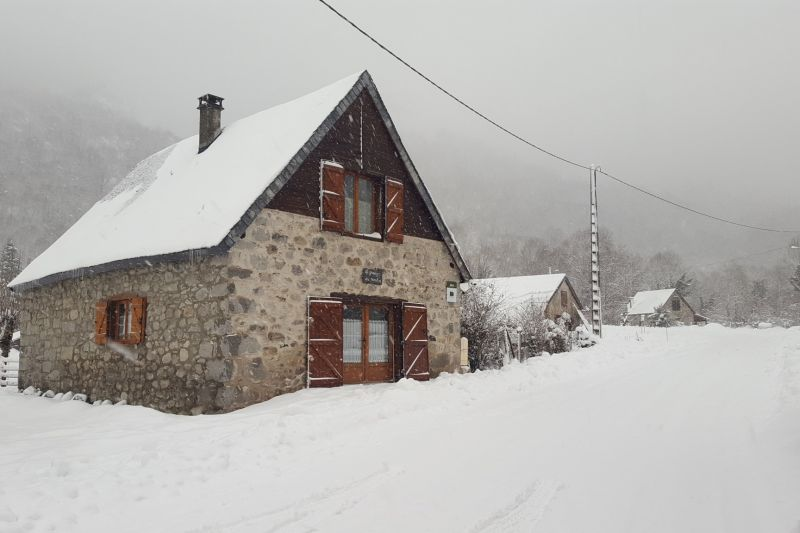 Vue extérieure de la location Location Gite 106964 Aulus les Bains