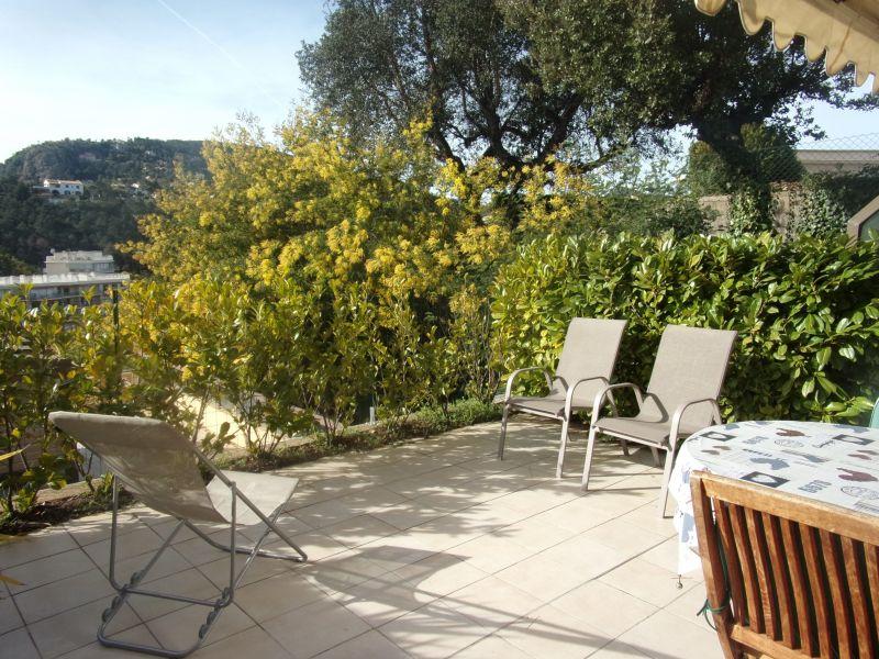 Vue de la terrasse Location Appartement 116694 Cannes