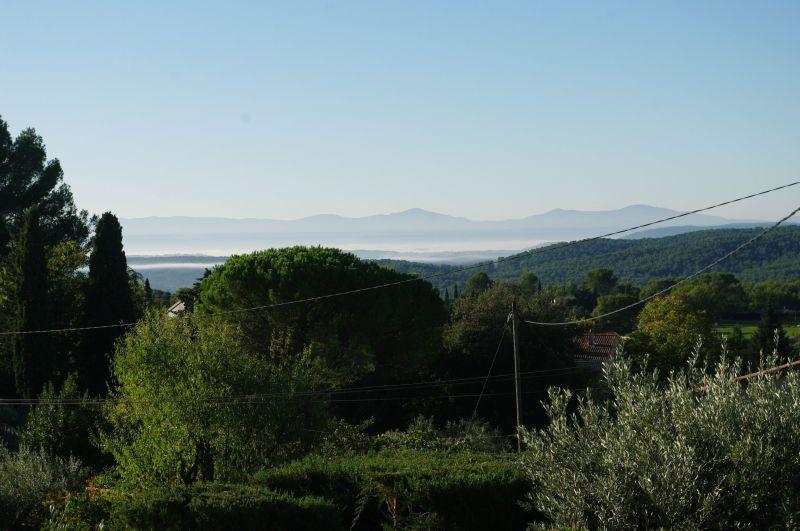 Vue depuis la location Location Villa 117687 Draguignan