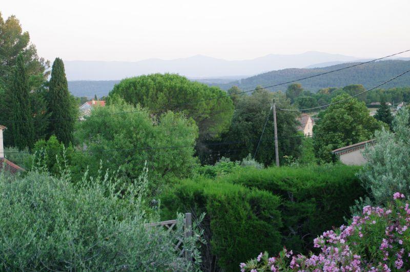 Vue de la terrasse Location Villa 117687 Draguignan