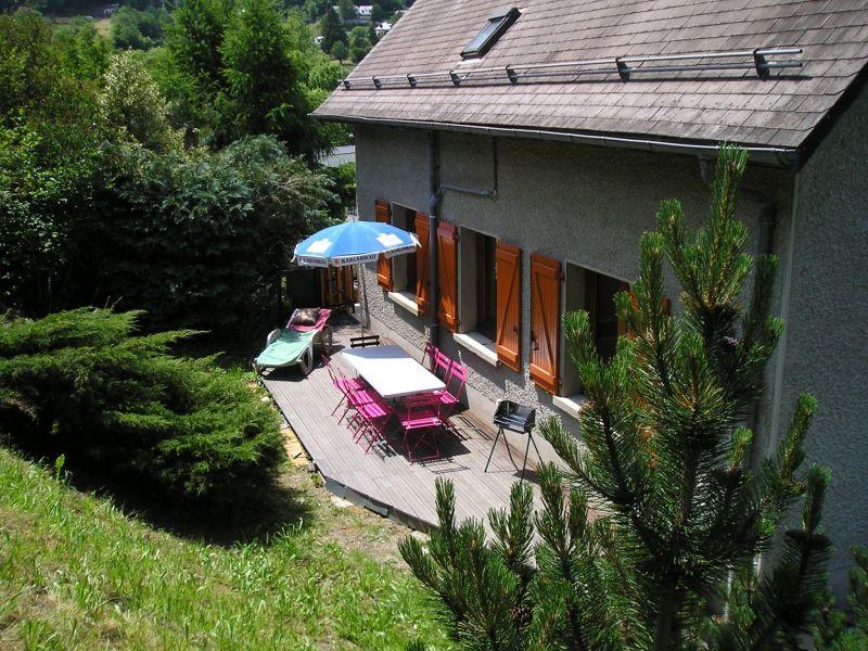 Jardin Location Chalet 117742 Cauterets