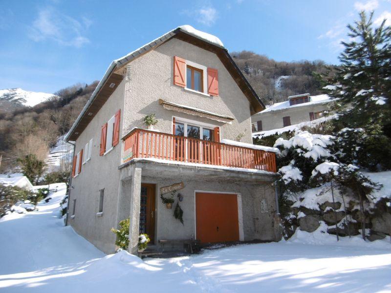 Vue extérieure de la location Location Chalet 117742 Cauterets