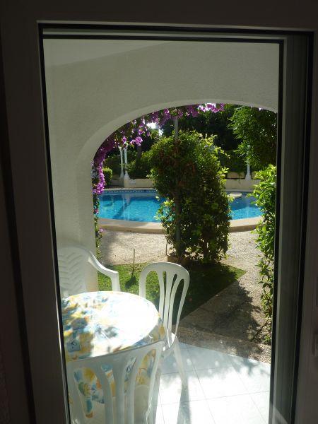 Vue de la terrasse Location Appartement 71551 Dénia
