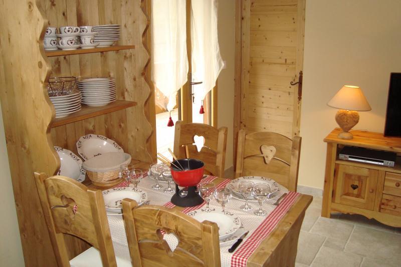 Salon Location Appartement 71879 Bellevaux Hirmentaz La Chèvrerie