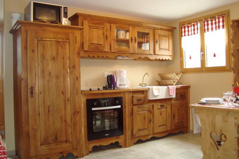 Coin cuisine Location Appartement 71879 Bellevaux Hirmentaz La Chèvrerie