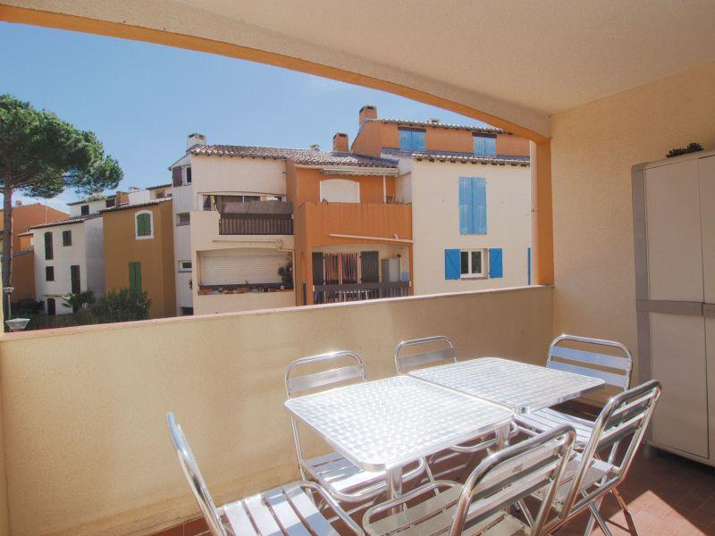 Vue du balcon Location Appartement 72770 Le Grau du Roi