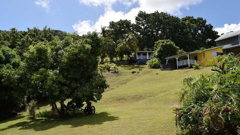 Vue extérieure de la location Location Gite 73814 Deshaies