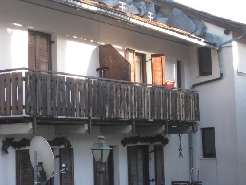 Vue extérieure de la location Location Appartement 74280 Torgnon