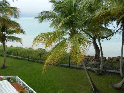 Vue de la terrasse Location Studio 74945 Gosier (Guadeloupe)