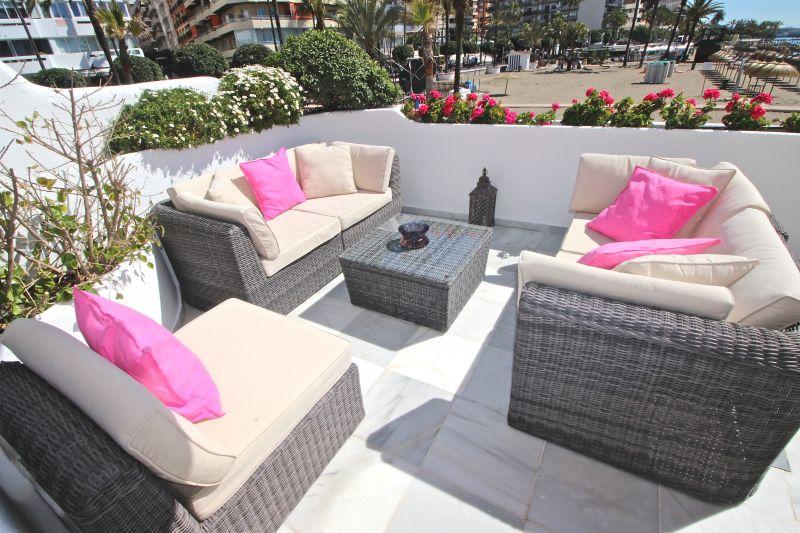 Terrasse 1 Location Appartement 75680 Marbella