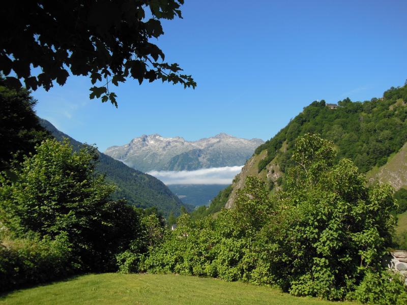 Vue de la terrasse Location Gite 80104 Barèges