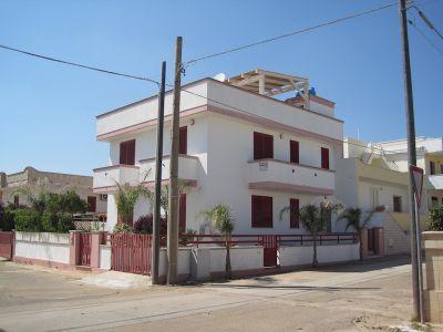 Vue ext�rieure de la location Location Appartement 84982 Pescoluse
