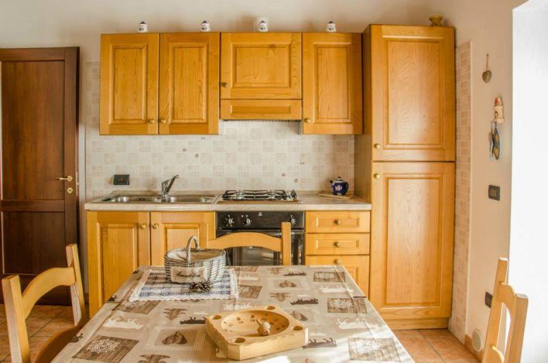 Coin cuisine Location Appartement 86799 Bionaz