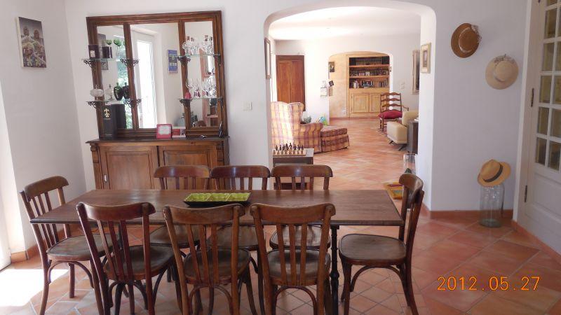 Salle à manger Location Villa 88796 Aix en Provence