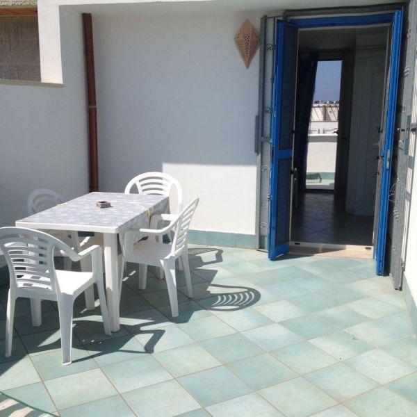 Terrasse 1 Location Appartement 88910 Ugento - Torre San Giovanni