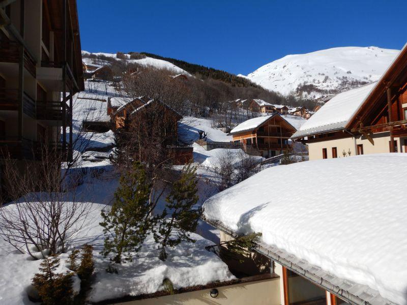 Vue du balcon Location Appartement 92317 Valloire