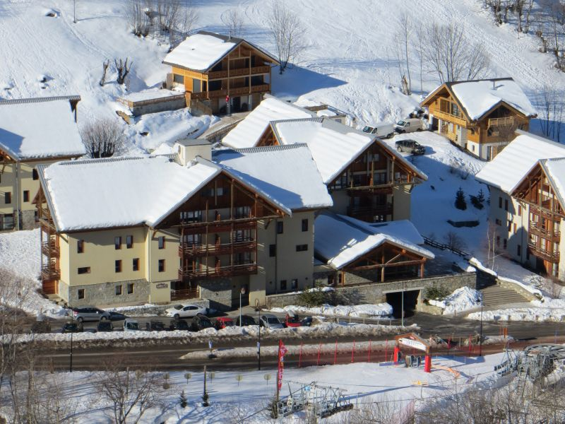 Vue extérieure de la location Location Appartement 92317 Valloire