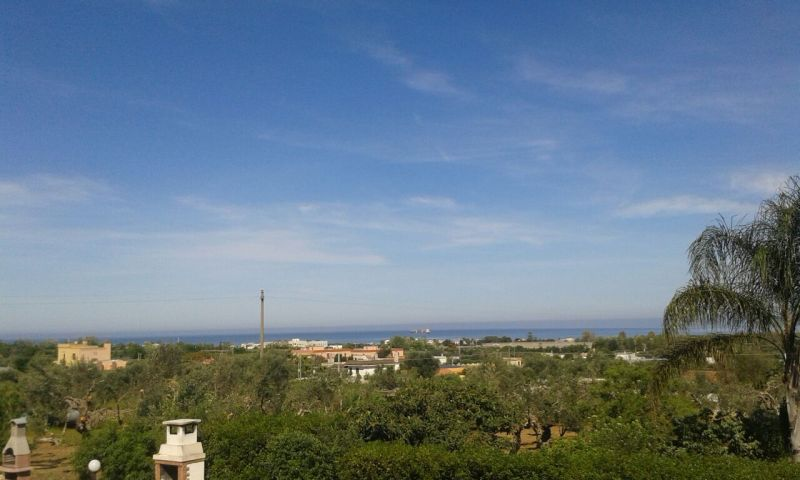 Vue de la terrasse Location Appartement 95183 Gallipoli