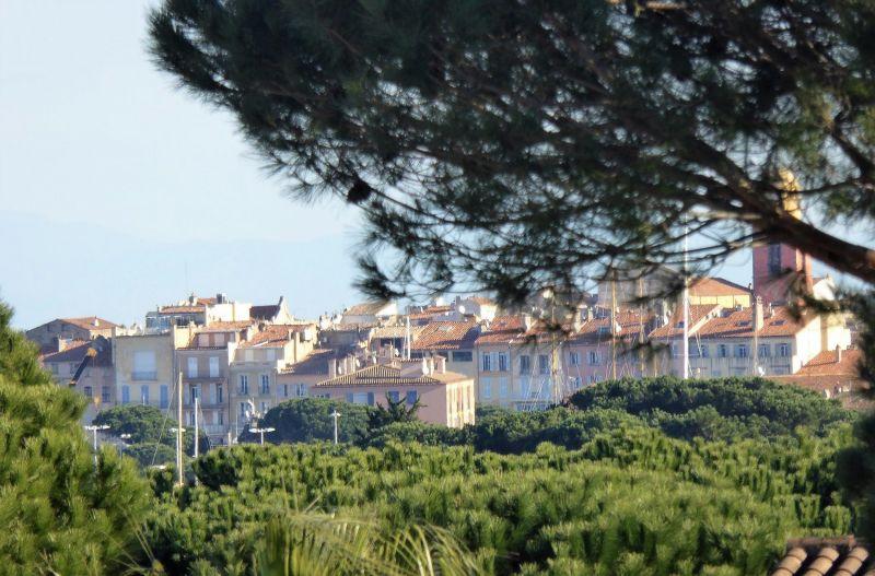 Vue depuis la location Location Maison 95795 Saint Tropez