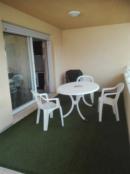 Vue de la terrasse Location Appartement 96733 Calvi
