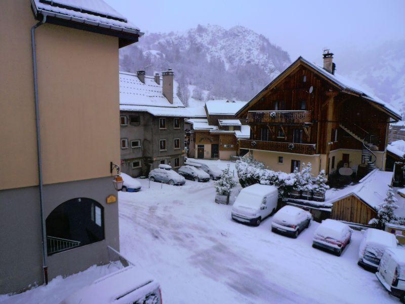 Vue du balcon Location Appartement 100352 Valloire