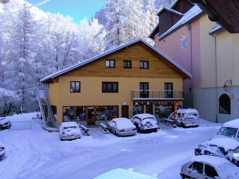 Vue extérieure de la location Location Appartement 100352 Valloire