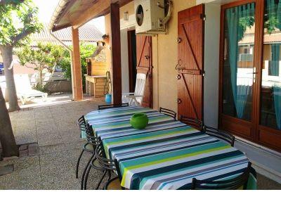 Terrasse Location Villa 100786 Valras-Plage