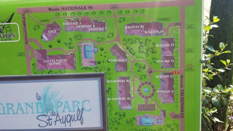 Plan de la location Location Appartement 107365 Fréjus