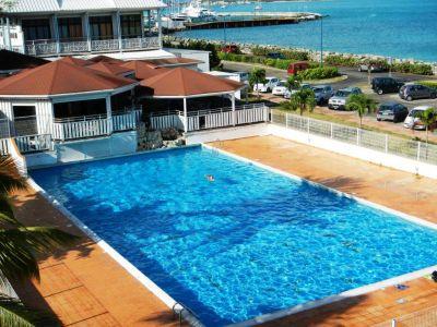 Vue extérieure de la location Location Appartement 108399 Marigot