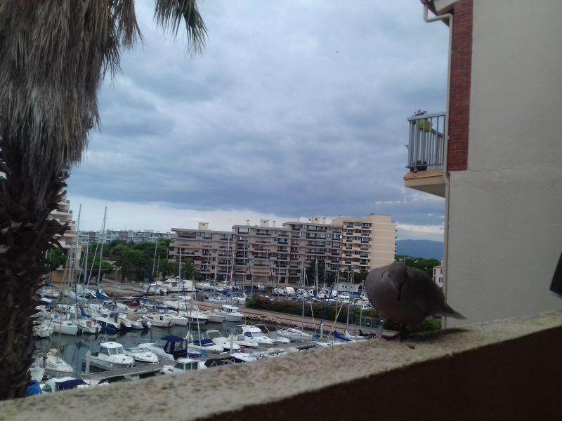 Vue du balcon Location Appartement 109831 Canet-en-Roussillon