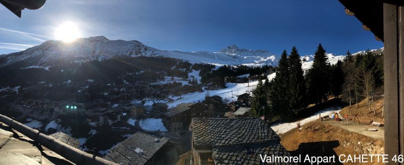 Vue du balcon Location Appartement 111703 Valmorel