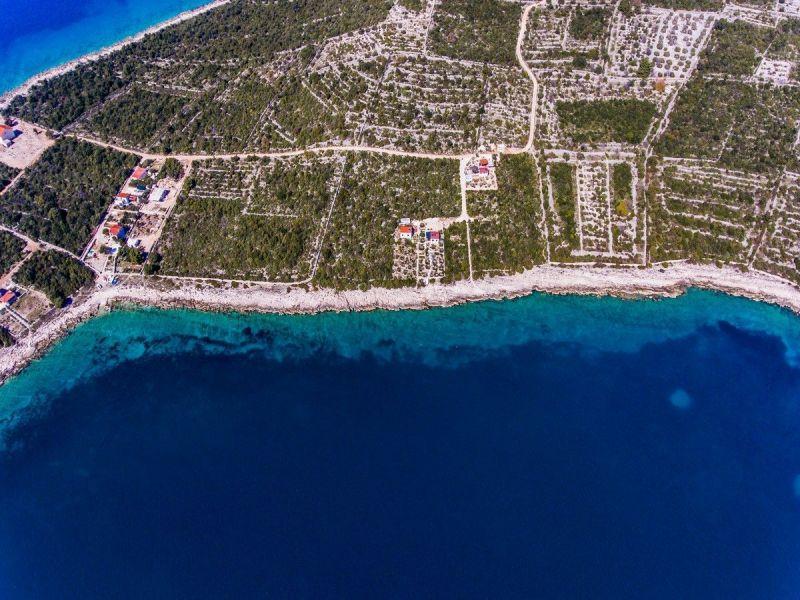 Vue extérieure de la location Location Maison 114372 Trogir