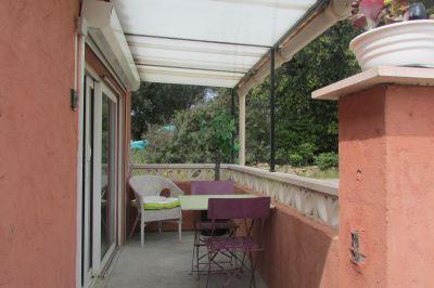 Vue de la terrasse Location Appartement 115227 Roquebrune sur Argens