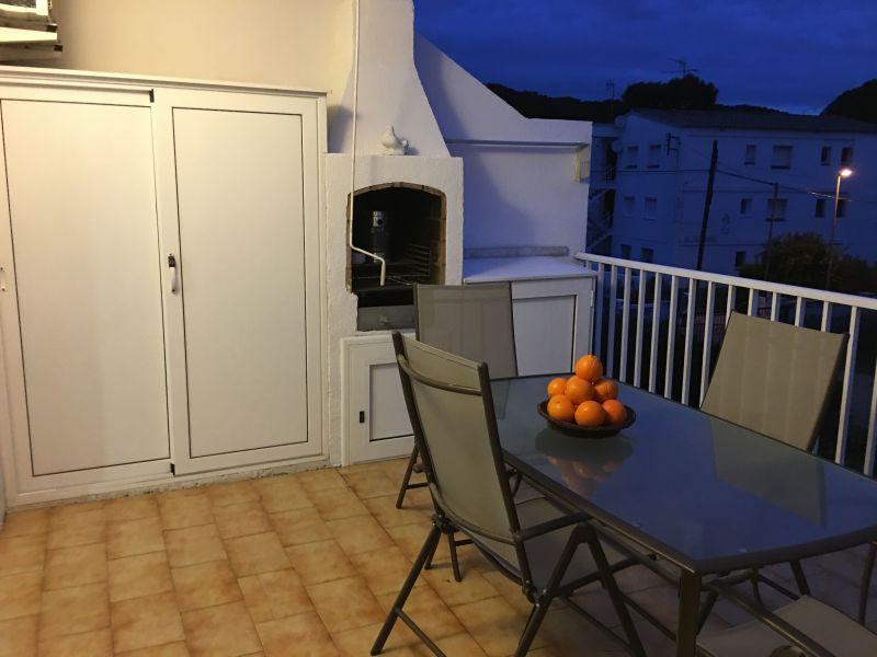 Vue de la terrasse Location Appartement 70957 L'escala
