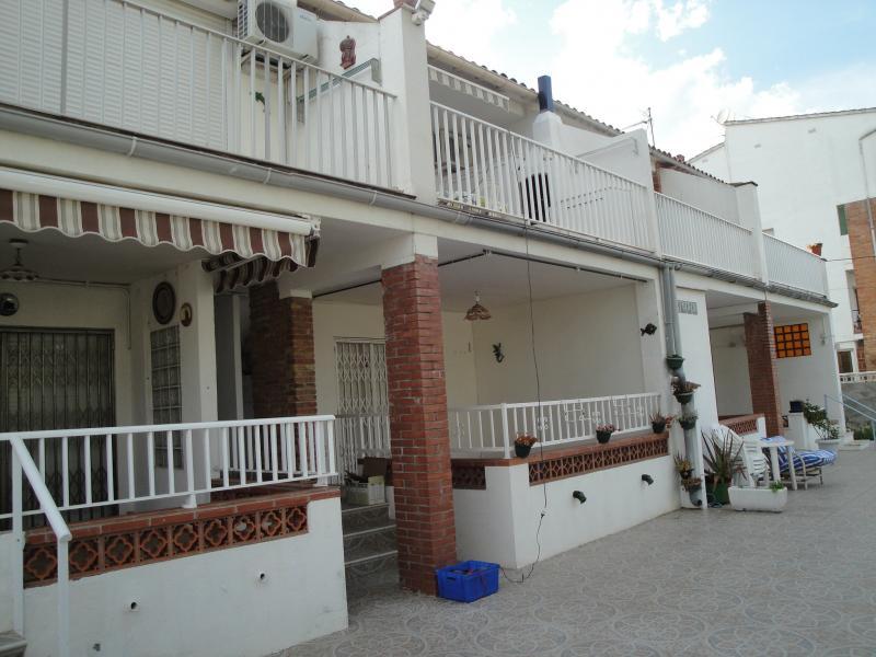 Vue extérieure de la location Location Appartement 70957 L'escala
