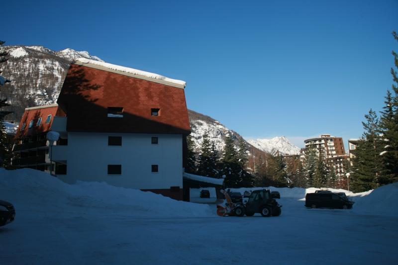 Parking Location Studio 74661 Serre Chevalier