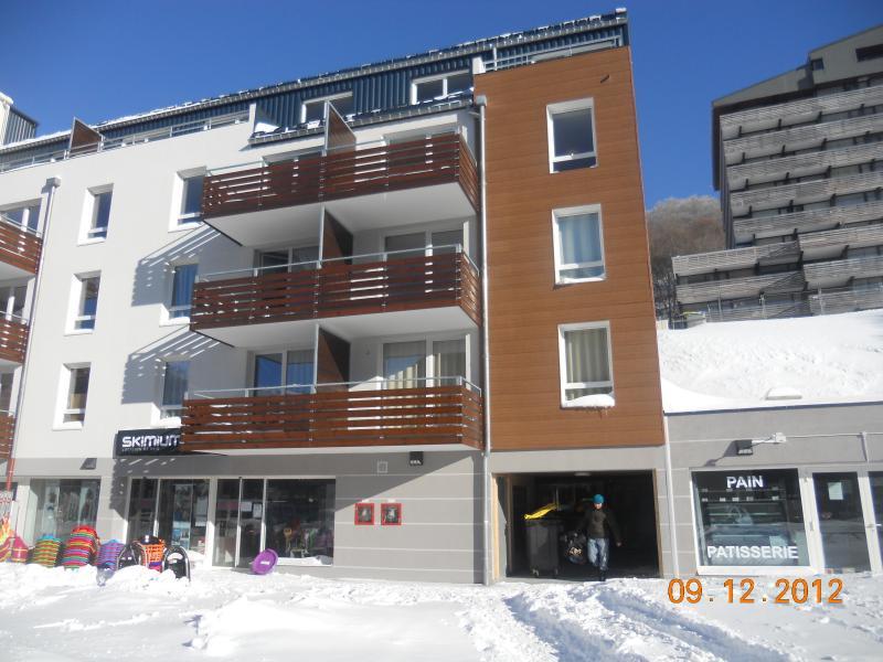 Vue extérieure de la location Location Appartement 74750 Besse - Super Besse