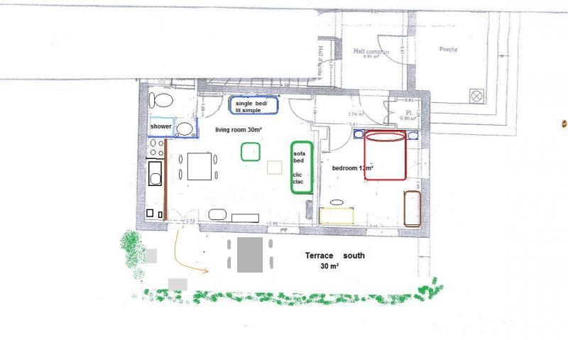 Plan de la location Location Appartement 81150 Nice