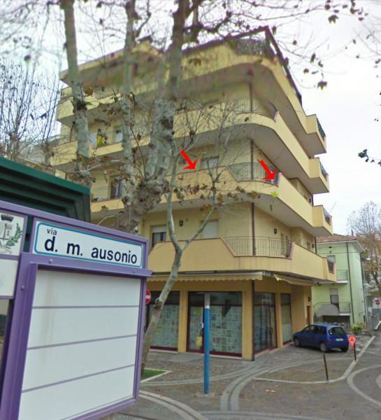 Vue extérieure de la location Location Appartement 81806 Bellaria Igea Marina