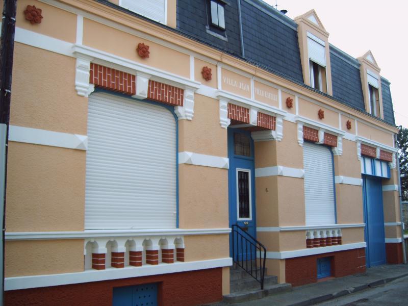 Vue extérieure de la location Location Appartement 82391 Wimereux