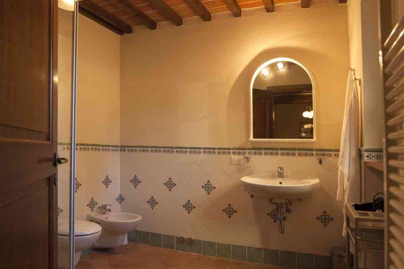 salle de bain 1 Location Gite 84894 Sienne