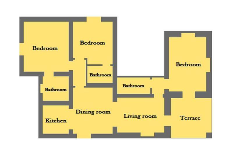 Plan de la location Location Gite 84894 Sienne