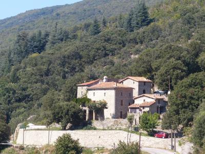 Vue ext�rieure de la location Location Gite 89777 Le Vigan