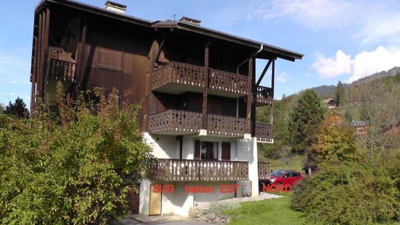 Vue extérieure de la location Location Appartement 91122 Samoëns