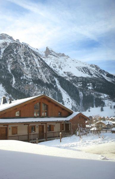 Vue de la terrasse Location Appartement 93265 Pralognan la Vanoise